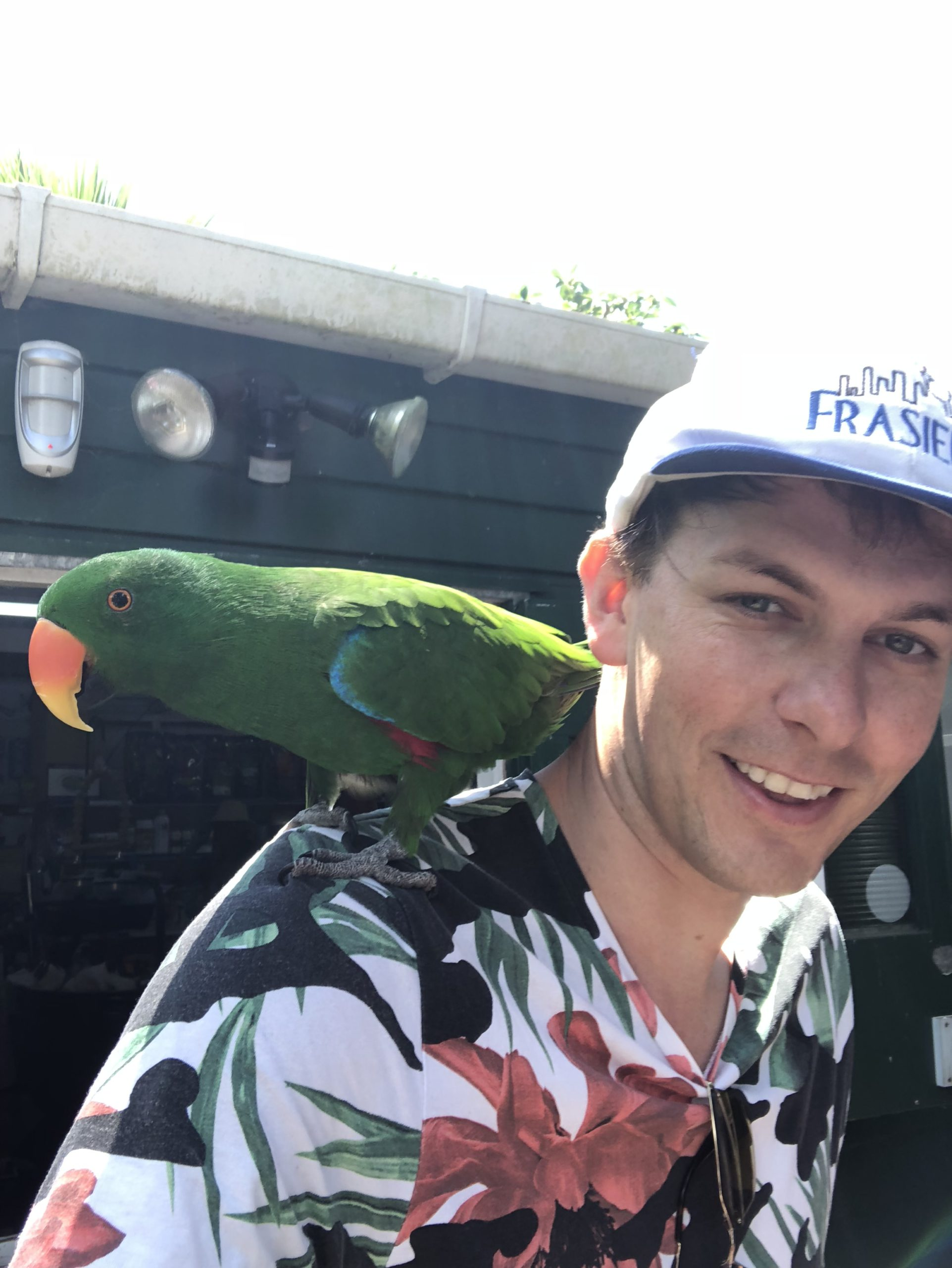 Photo of Kermath with bird